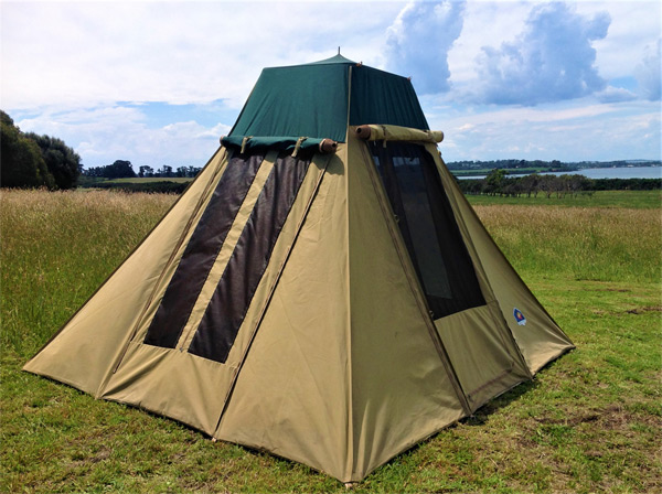 Outback-C&er-Tent & Outback Camper Tent - Phillip Island Camping Hire